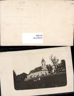 567400,Foto Ak Kirche M. Frau Kinder I. Vordergrund - Kirchen U. Kathedralen