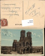 567401,Reims La Cathedrale Vue D Ensemble Kathedrale Kirche - Kirchen U. Kathedralen