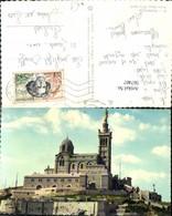 567407,Marseille Notre Dame De La Garde Kirche M. Statue - Kirchen U. Kathedralen