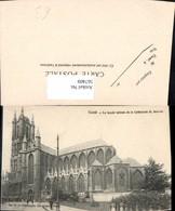 567409,Gand La Facade Laterale De La Cathedrale St Bavon Kathedrale Kirche - Kirchen U. Kathedralen