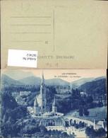 567412,Les Pyrenees Lourdes La Basilique Basilika Kirche - Kirchen U. Kathedralen