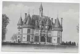 (RECTO / VERSO) CHATEAU DE BOURNEL EN 1910 - BEAU CACHET - CPA VOYAGEE - Frankrijk