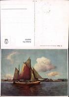 566050,Künstler Ak R. Guba Schiff Segelschiff - Segelboote
