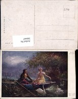 566447,Künstler AK Hans Zatzka Schwan Schwäne Liebe - Zatzka