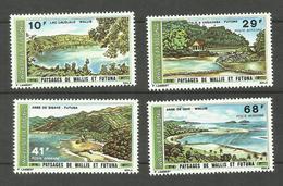Wallis Et Futuna PA N°67 à 70 Neufs** Cote 18 Euros - Nuevos