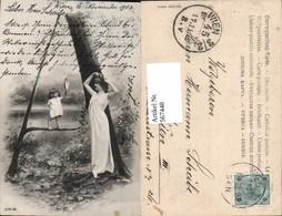 567448,Buchstaben-AK Buchstabe A Fotomontage Frau Kind - Ansichtskarten