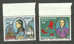 Wallis Et Futuna PA N°82, 83 Neufs** Cote 6.50 Euros - Nuevos