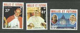 Wallis Et Futuna PA N°86 à 88 Neufs** Cote 10.10 Euros - Nuevos