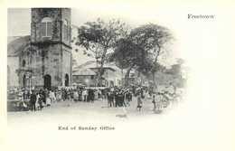 Freetown End Of Sunday Office RV - Sierra Leone