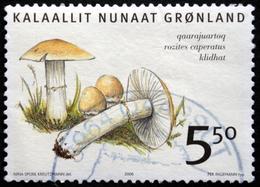 Greenland 2006  Mushrooms / Pilze / Champignons / Hongos      MiNr.464  ( Lot   A  337 ) - Greenland