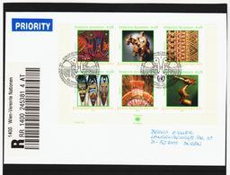 KTM155 UNO WIEN 2003 RECO-BRIEF MICHL BLOCK 17 Siehe ABBILBUNG - Wien - Internationales Zentrum