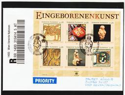 KTM156 UNO WIEN 2004 RECO-BRIEF MICHL (411/16) BLOCK 19 Siehe ABBILBUNG - Wien - Internationales Zentrum