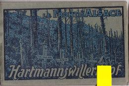 Tre-  68 Ht Rhin Dépliant De 10 Cpa   HARTMANNSWILLERKOPF - France