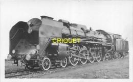 Trains, Locomotive 242, Caractéristiques Au Verso, éd S N C F Notre Métier - Trains