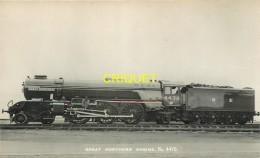 Trains, Carte Photo Great Northern Engine, N° 4470 - Trains