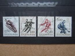 VEND BEAUX TIMBRES DE YOUGOSLAVIE N° 1139 - 1142 , XX !!! - 1945-1992 République Fédérative Populaire De Yougoslavie