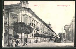 CPA Arad, Erzsébet Királyné-út - Romania
