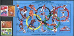 230 PALAU 1996 - Yvert 905/28 - Sport JO Atlanta - Neuf **(MNH) Sans Trace De Charniere - Palau