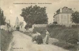 VARREDDES ROUTE DE GERMIGNY - Francia