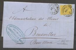 1884 Lettre 25c Sage Obl CAD T18 St Nicolas Du Port Mthe Et Moselle TB P5178 - Postmark Collection (Covers)