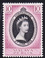 Malaysia-Perlis SG 28 1953 Coronation, Mint Never Hinged - Perlis