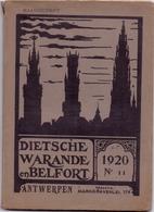 Tijdschrift  Litteratuur - Dietsche Warande & Belfort - Antwerpen 1920 N° 11 - Non Classés