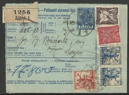 UNGHERIA - MAGYARORSZÁG: Poštanski Odpremnica List - Colis Postaux