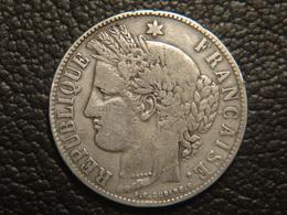 Très Rare 5 Francs 1870 K A.E. OUDINE Cérès - France