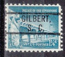 USA Precancel Vorausentwertung Preo, Locals South Carolina, Gilbert 802 - Vorausentwertungen