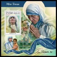 GUINEA REP. 2018 MNH** Mother Teresa Mutter Teresa Mere Teresa S/S - OFFICIAL ISSUE - DH1822 - Mother Teresa