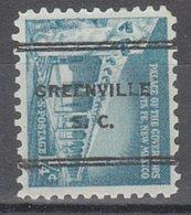 USA Precancel Vorausentwertung Preo, Locals South Carolina, Greenville 247 - United States