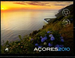 XE0404 Azores 2010 Europa And Marine Life Limited Edition Small Vouchers With Proofs MNH - Sellos