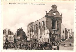 CP. De WAVRE - Place De L'Hôtelde Ville Et Rue De NIvelles. - Ed. Belge 44, Rue De L'Automne BXL. - Jodoigne