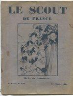 Scoutimse Revue Le Scout De France 15 Février 1931 - 1900 - 1949