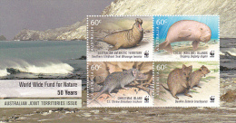 Australian Antarctic Territory 2011 50th Anniversary WWF Mini Sheet MNH - Australian Antarctic Territory (AAT)