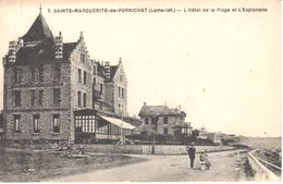 (44) Loire Atlantique - CPA - Sainte-Marguerite-de-pornichet - L'Hôtel De La Plage Et L'Esplanade - Pornichet