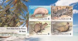 Cocos (Keeling) Islands 2011 50th Anniversary WWF Mini Sheet MNH - Cocos (Keeling) Islands