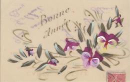 BONNE ANNEE     CARTE CELLULOID - Cartes Postales
