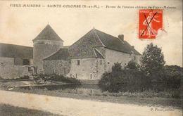 D77  VIEUX MAISONS  SAINTE COLOMBE  Ferme De L'Ancien Château De Vieux Maisons - La Ferte Gaucher