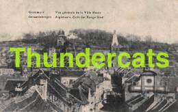 CPA GERAARDSBERGEN GRAMMONT VUE GENERALE DE LA VILLE HAUTE ALGEMEEN ZICHT DER HOOGE STAD - Geraardsbergen