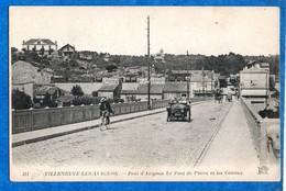 30- Villeneuve Les Avignon -  Pont D'Avignon Et Pont De Pierre -  N° 311  Ed  ND     CPA - Villeneuve-lès-Avignon