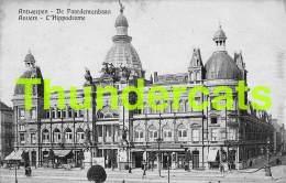 CPA ANTWERPEN ANVERS DE PAARDENRENBAAN L'HIPPODROME - Antwerpen