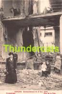 CPA ANTWERPEN ANVERS BOMBARDEMENT 8 - 9 OCT 1914 VREDESTRAAT - Antwerpen