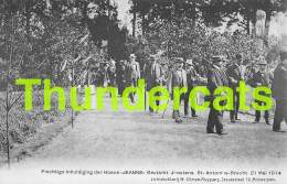 CPA PLECHTIGE INHULDIGING DER HOEVE SINT ST ANTONIUS BRECHT GESTICHT JOOSTENS HOEVE JEANNE 21 MEI 1914 - Brecht
