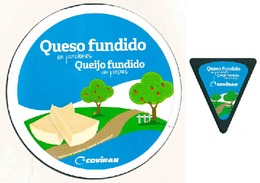 Etiquettes Fromage - Cheese Label - COVIRAN España - Quesos
