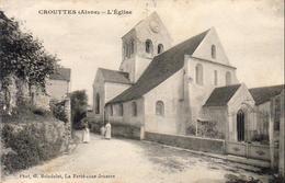 D02  CROUTTES  L'Église - Autres Communes