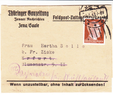 Germany / Feldpost Newspaper Wrappers - Germany
