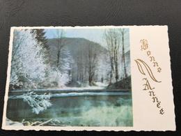 BONNE ANNÉE Lac Enneigé - Neujahr