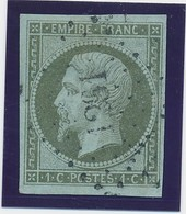 "1 C Bronze Obl Pc 1261 ""La Ferté Bernard"" Signé Calves TB. - 1853-1860 Napoléon III"