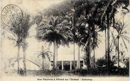 Une Factorerie à AFFAME Sur L'Ouémé - Dahomey - Sans éditeur - Dahomey